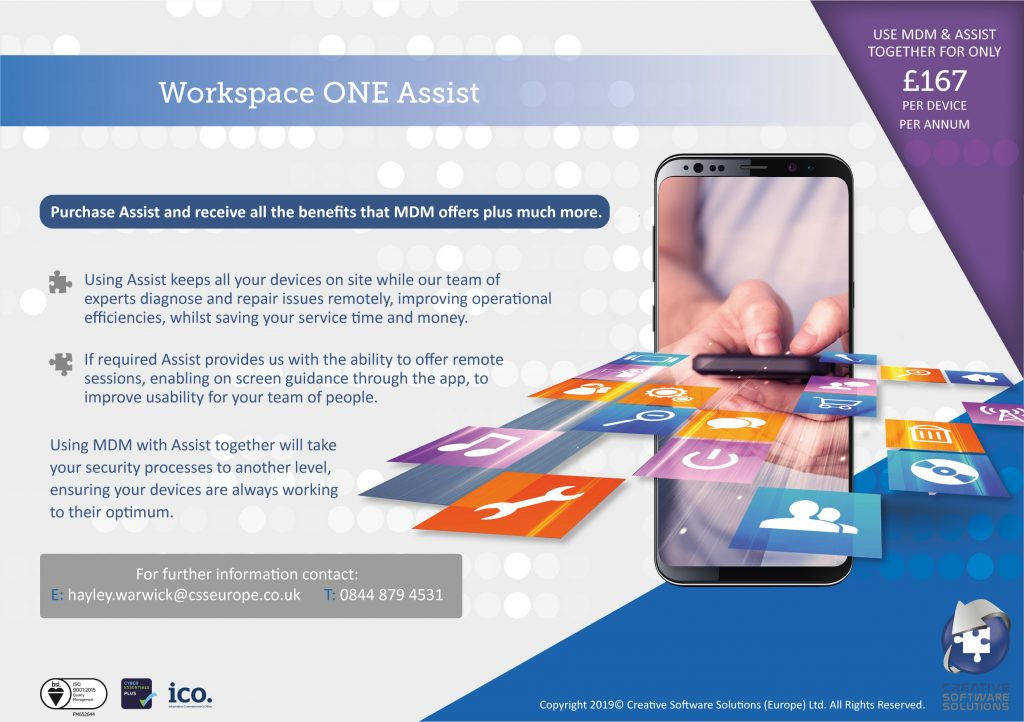 remote and device management flyer