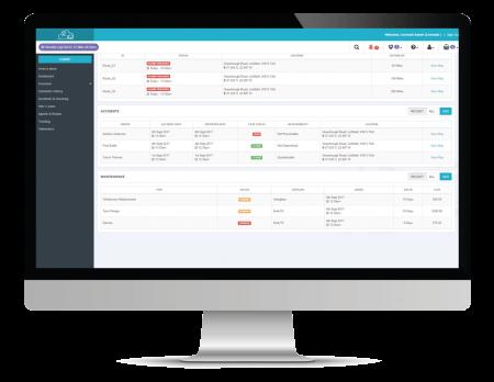 fleet screenshot on desktop computer