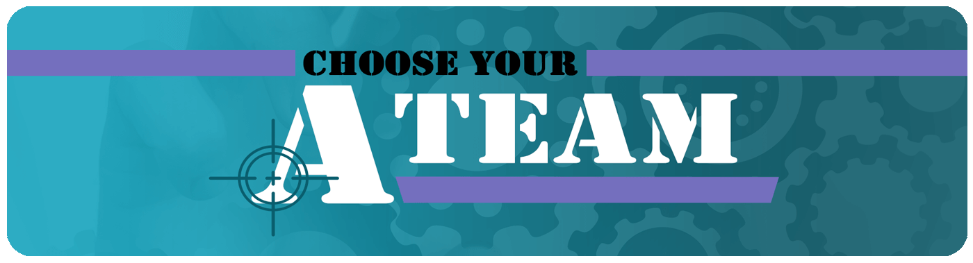 choose your a-team blog banner