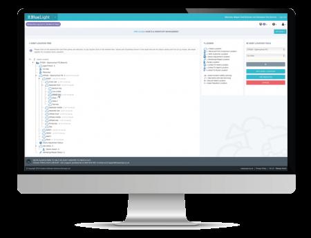 asset management screenshot on desktop computer