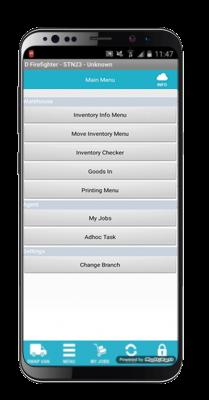 mobile workforce screenshot on mobile