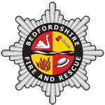 Bedfordshire fire and rescue logo