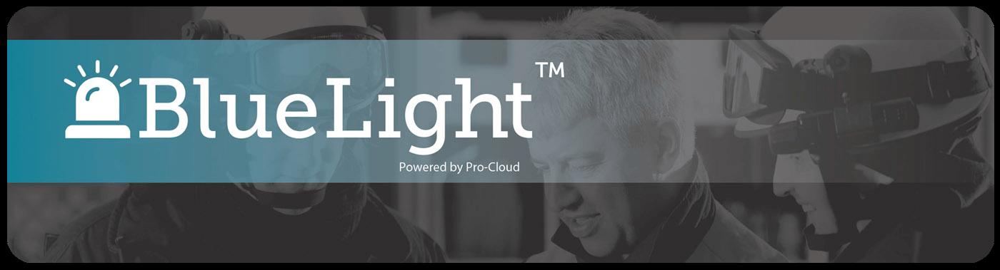Pro-Cloud BlueLight logo