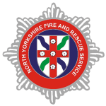 North yorkshire fore and rescue logo
